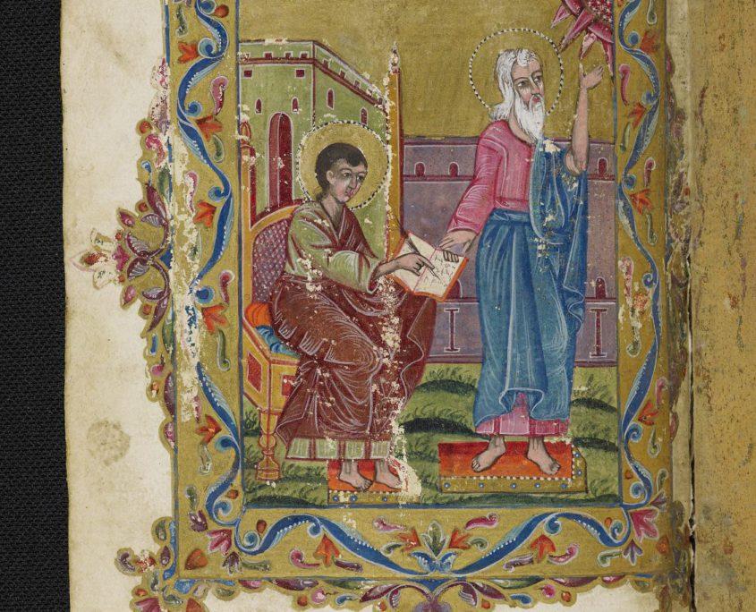 Miniatur des Evangelisten Johannes